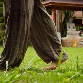Медитация при ходьбе