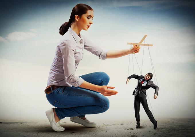 10 правил,как управлять мужчиной