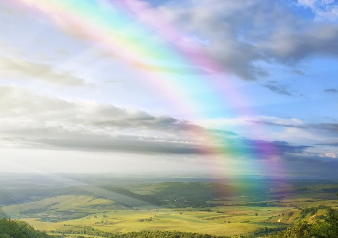 Найдите свою радугу и не отпускайте её