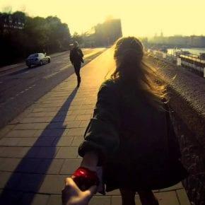 Когда любовь находит тебя, пожалуйста, не беги от нее
