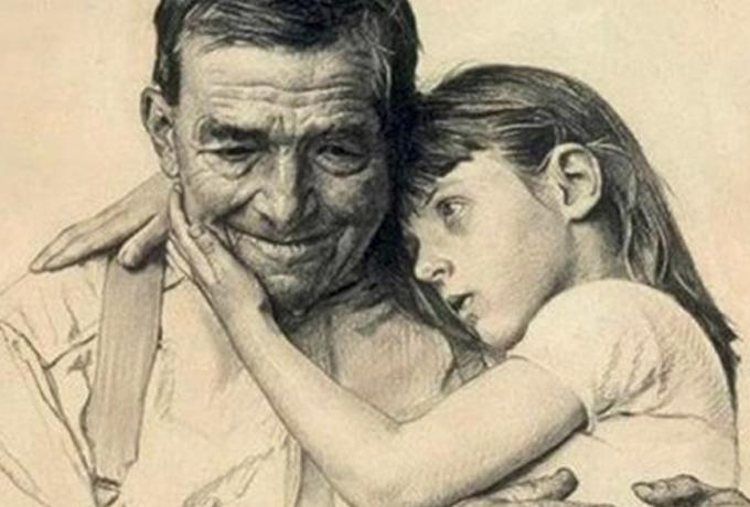 Дедушки и бабушки не умирают, они живут в наших сердцах