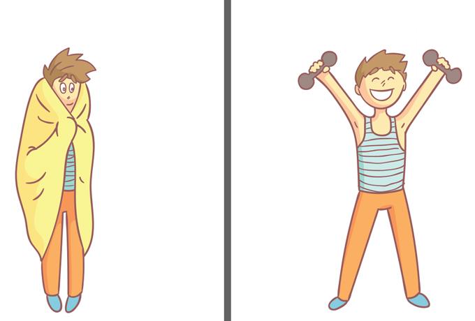 Как преодолеть лень и начать заниматься физическими упражнениями