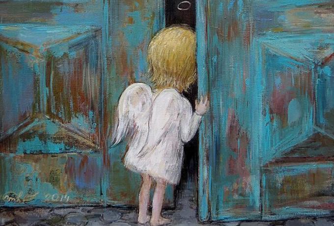 История о том, как у меня завелся карманный ангел…