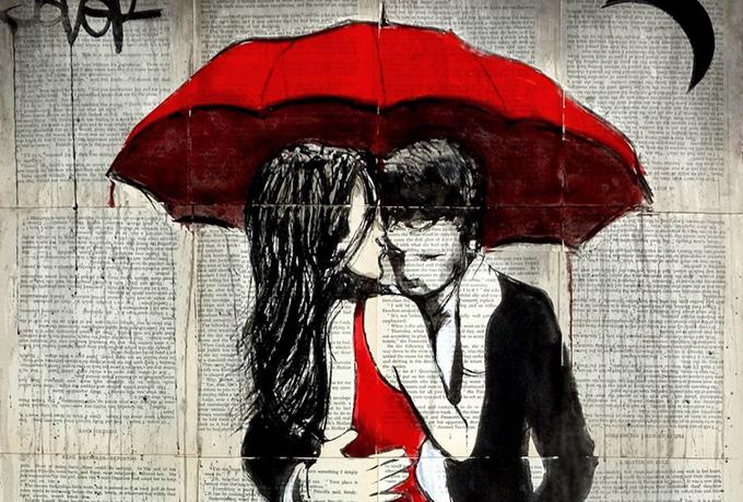 Когда любовь найдет тебя, пожалуйста, не убегай от нее