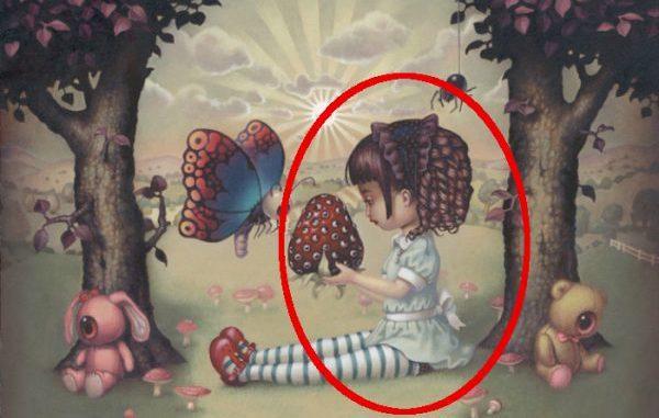 Что вы увидели первым на этой картинке? Тест расскажет о ваших скрытых страхах