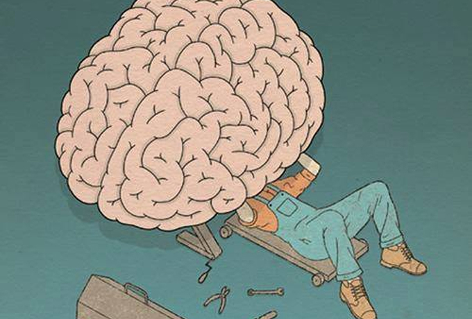 В нашем мозгу есть кнопка «удалить лишнее». Научитесь ее использовать