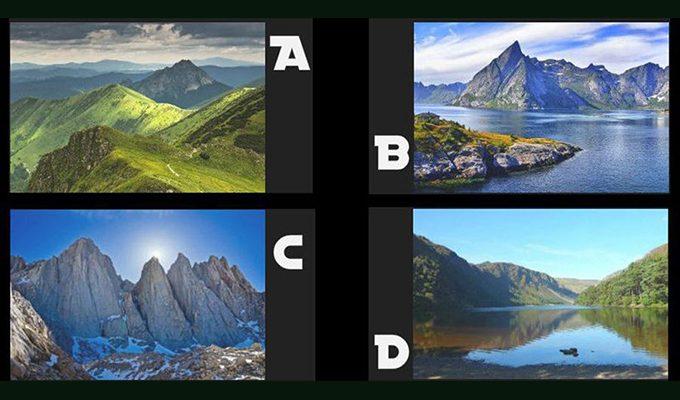 Какую гору вам хочется исследовать? Выбор раскроет вашу истинную духовную силу