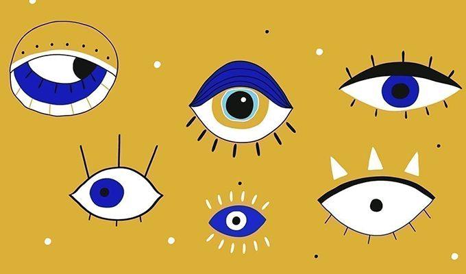 Выберите изображение глаза и узнайте о себе самое интересное