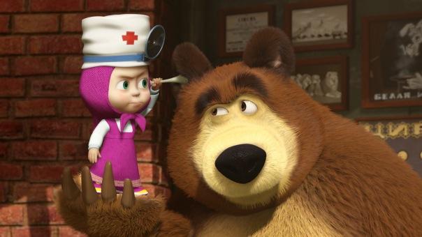 Психология мультфильма «Маша и Медведь»
