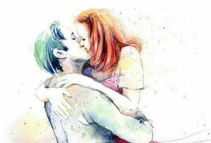 Мы отпускаем руки друг друга, прежде чем отпустить сердца