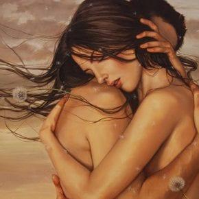 Люблю, когда меня обнимают так, что останавливается время