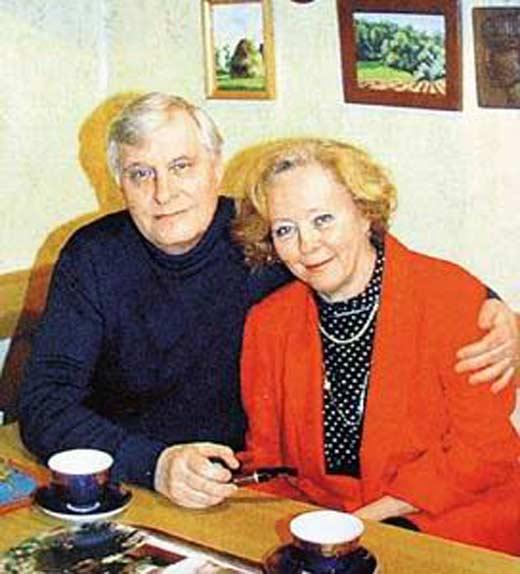 «Счастье — это когда тебя понимают»: история любви Олега Басилашвили и Галины Мшанской